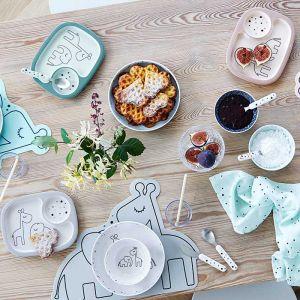 Serviesset Yummy mini Dreamy Dots grijs Done by Deer