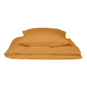 Beddengoed Ingeborg Classic Dot mustard 100x140 Liewood