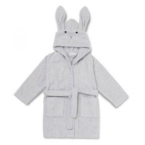Badjas Lily Rabbit grijs 1-2 jaar Liewood