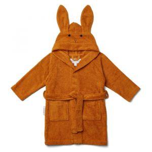 Badjas Lily Rabbit mustard 1-2jaar Liewood
