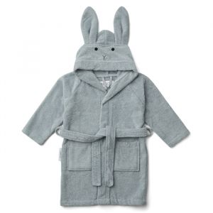 Badjas Lily Rabbit sea blue 3-4 jaar Liewood