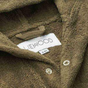 Badjas Lily Mr bear khaki Liewood
