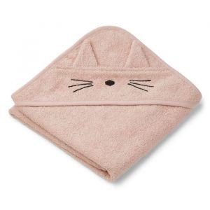 Baby badcape Albert Cat rose Liewood