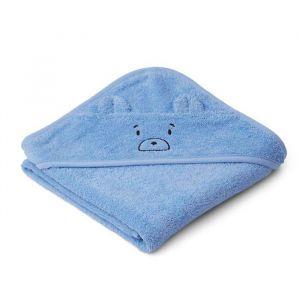Baby badcape Albert Mr bear sky blue Liewood