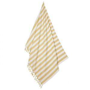 Hammam handdoek Mona Stripe yellow mellow/creme Liewood