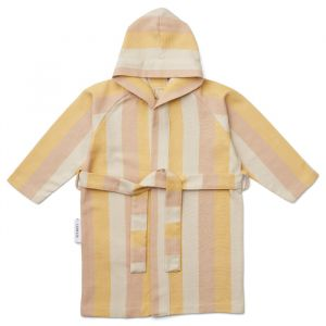 Badjas hammam Dana Stripe peach/sandy/yellow Liewood
