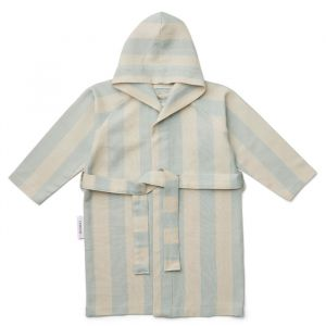 Badjas hammam Dana Stripe sea blue/sandy Liewood