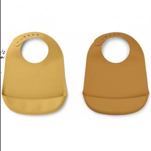 Siliconen slab Tilda mustard-yellow mellow (2st) Liewood