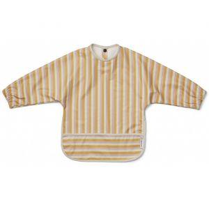 Slab met lange mouwen Stripe peach/sandy/yellow Liewood