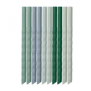Siliconen rietjes Timoti green multi mix (10st) Liewood