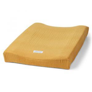 Hydrofiele aankleedkussenhoes yellow mellow Liewood