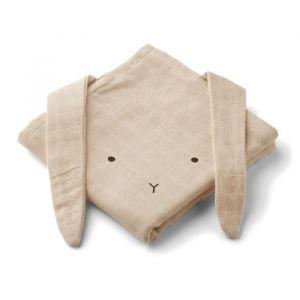 Hydrofiele doeken Rabbit sandy (2st) Liewood