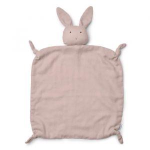 Knuffeldoek Agnete Rabbit roze Liewood