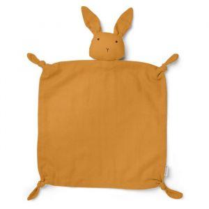 Knuffeldoek Agnete Rabbit mosterdgeel Liewood