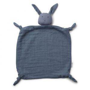 Knuffeldoek Agnete Rabbit blue wave Liewood