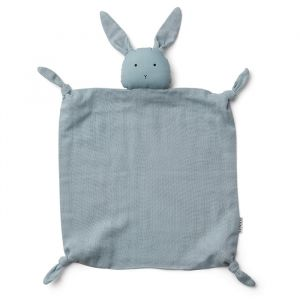 Knuffeldoek Agnete Rabbit sea blue Liewood
