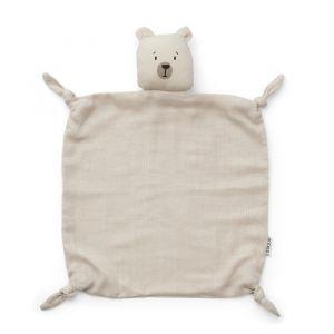 Knuffeldoek Agnete Polar Bear sandy Liewood