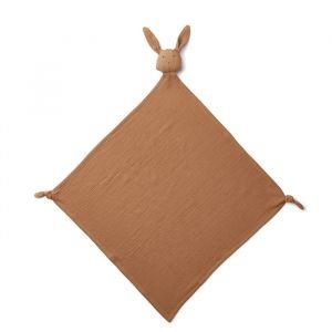 Knuffeldoek Robbie Rabbit terracotta (60x60cm) Liewood