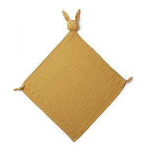 Knuffeldoek Robbie Rabbit yellow mellow (60x60cm) Liewood