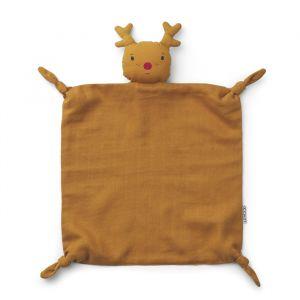 Knuffeldoek Agnete Reindeer mustard Liewood