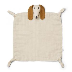 Knuffeldoek Agnete Dog sandy Liewood
