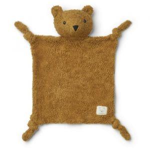 Knuffeldoek Lotte Mr bear golden caramel Liewood