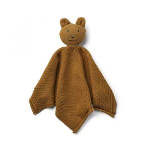 Knuffeldoek Milo Mr bear golden caramel Liewood