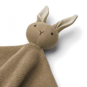 Knuffeldoek Milo Rabbit oat Liewood