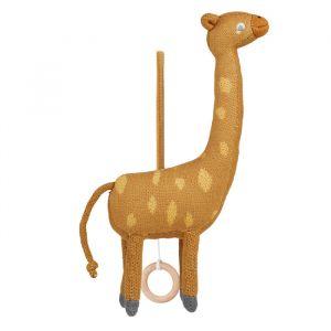 Muziekmobiel Angela Giraffe mustard Liewood