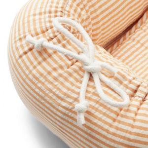 Gro babynest Stripe mustard/white Liewood