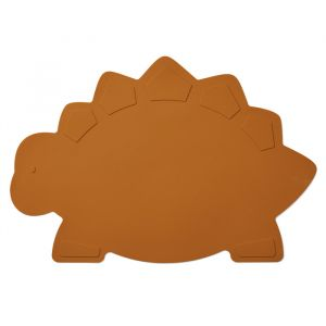 Siliconen placemat Tracy Dino mustard Liewood