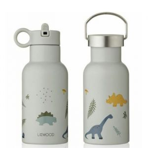 Water- en thermosfles Anker Dino dove blue mix Liewood