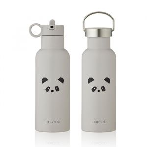 Water- en thermosfles Neo Panda light grey (500ml) Liewood