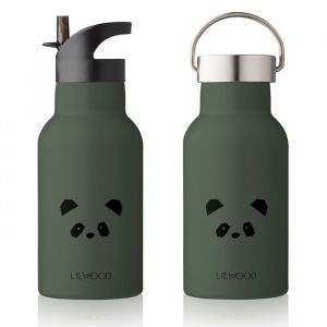 Water- en thermosfles Anker Panda hunter green Liewood