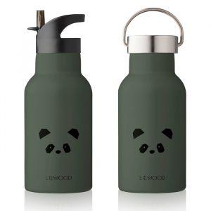 Water- en thermosfles Anker Panda hunter green Liewood