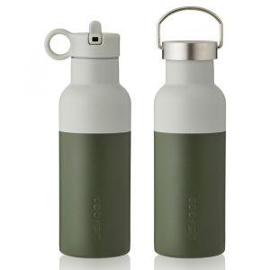 Water- en thermosfles Neo hunter green/blue(500ml) Liewood