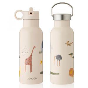 Water- en thermosfles Neo Safari sandy mix (500ml) Liewood