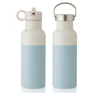 Water- en thermosfles Neo sea blue/sandy mix (500ml) Liewood