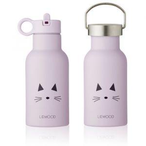 Water- en thermosfles Anker Cat light lavender Liewood