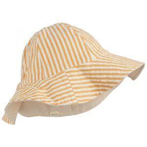Zonnehoedje Cady sandy/Stripe mustard Liewood