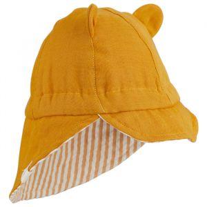 Zonnehoedje Cosmo mustard/Stripe mustard Liewood