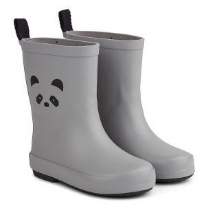 Regenlaarsjes Rio Panda dumbo grey Liewood