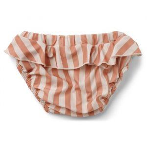 Zwembroek Elise Stripe coral blush/creme Liewood