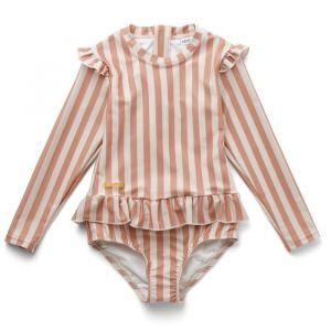 Badpak Sille Stripe coral blush/creme Liewood