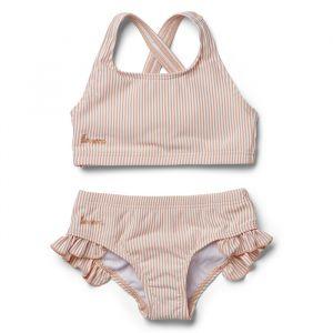 Bikini Juliet Stripe coral blush/creme Liewood