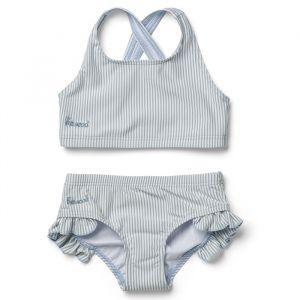 Bikini Juliet Stripe sea blue/white Liewood