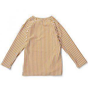 Zwemshirt Noah Stripe mustard/white Liewood