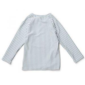 Zwemshirt Noah Stripe sea blue/white Liewood