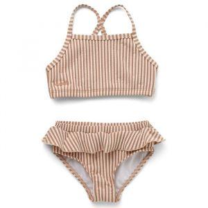 Bikini Norma Stripe tuscany rose/sandy (maat 92/98) Liewood