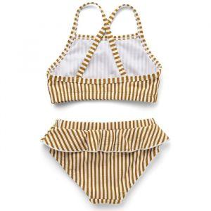 Bikini Norma Stripe mustard/white Liewood